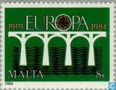 Postage Stamps - Malta - Europe – Bridge