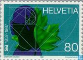Postage Stamps - Switzerland [CHE] - Engineering and architectural society 150 years