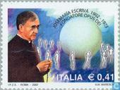 Briefmarken - Italien [ITA] - Josemaria Escrivá