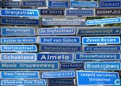 Cartes postales - Almelo - Almelo straatnamen