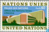 Postage Stamps - United Nations - Geneva - New UN Building