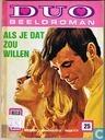 Strips - Duo Beeldroman (tijdschrift) - Als je dat zou willen