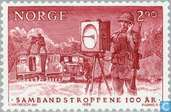 Postage Stamps - Norway - Military anniversaries