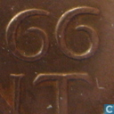 Munten - Nederland - Nederland 1 cent 1966 (grote cijfers)