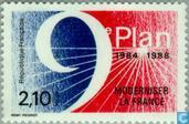 Postage Stamps - France [FRA] - 9th Five Year Plan modernisation