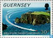 Postage Stamps - Guernsey - Speedboats