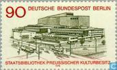 Postage Stamps - Berlin - State Library Opening