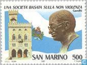 Postage Stamps - San Marino - Mahatma Gandhi