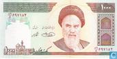Iran 1.000 Rials ND (1992-) P143d