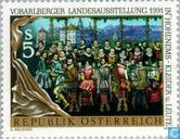 """Postage Stamps - Austria [AUT] - Exhibition """"Kleider und Leute"""""""