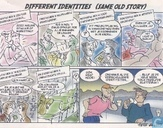 Strips - Different identities - Different identities (same old story)