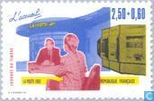 Briefmarken - Frankreich [FRA] - Postamt