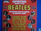 Disques vinyl et CD - Artistes variés - Superstars tribute to The Beatles