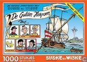 Puzzles - Strips: Suske en wiske - De Gulden Harpoen