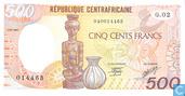 Centr. Rep. Afr. 500 Franken