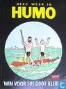 Poster - Comic books - Humo : Win voor 500.001 F kleren