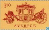 Postage Stamps - Sweden [SWE] - Coronation coach
