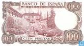 Bankbiljetten - Banco de España - Spanje 100 Pesetas