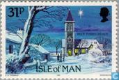 Postage Stamps - Man - Churches