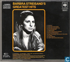 Disques vinyl et CD - Streisand, Barbra - Greatest Hits