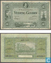 Banknotes - Monarchy of the Netherlands - 40 guilder Netherlands 1921