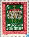 Postzegels - Oostenrijk [AUT] - Steiermark