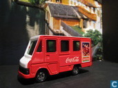 Model cars - Tomica - Toyota Van 'Coca-Cola'