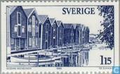 Timbres-poste - Suède [SWE] - 115 bleu / gris