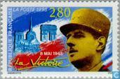 Postage Stamps - France [FRA] - End of WWII