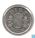 Monnaies - Espagne - Espagne 10 pesetas 1983