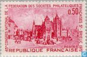 Postage Stamps - France [FRA] - 45th Congres of philatelists