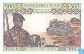 Mali 500 Franken