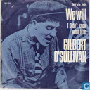 Vinyl records and CDs - O'Sullivan, Gilbert - We Will