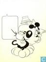 Tekeningen / schilderijen - Jippes, Daan - Mickey Maandblad 1976-07 voorplaat