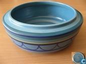 Ceramics - Flora, Gouda - Flora koektrommel 1848