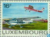 Postage Stamps - Luxembourg - Aviation