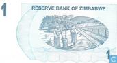 Billets de banque - Reserve Bank of Zimbabwe - Zimbabwe 1 Dollar