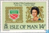 Postage Stamps - Man - Commonwealth Conference