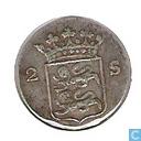 "Coins - West Friesland - West-Friesland double stuiver 1792 ""Wapenstuiver"""