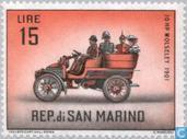 Postage Stamps - San Marino - Cars