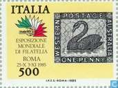 Postage Stamps - Italy [ITA] - ITALIA '85 Stamp Exhibition
