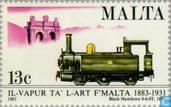 Timbres-poste - Malte - Ligne de chemin de fer