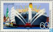 Postage Stamps - Germany, Federal Republic [DEU] - Hamburg Port 1189-1989