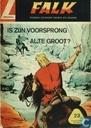Comic Books - Falk - Is zijn voorsprong al te groot?