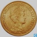 Coins - the Netherlands - Netherlands 10 gulden 1913