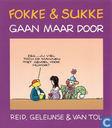 Bandes dessinées - Fokke & Sukke - Fokke & Sukke gaan maar door