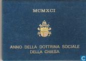 Monnaies - Vatican - lires Vatican 500 1991