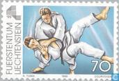Postzegels - Liechtenstein - Sportspelen kleine Europese landen