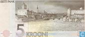 Bankbiljetten - Eesti Pank - Estland 5 Krooni