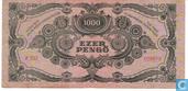Billets de banque - Hongrie - 1945-1946 Pengö Issue - Hongrie 1.000 Pengö 1945 (P118b)